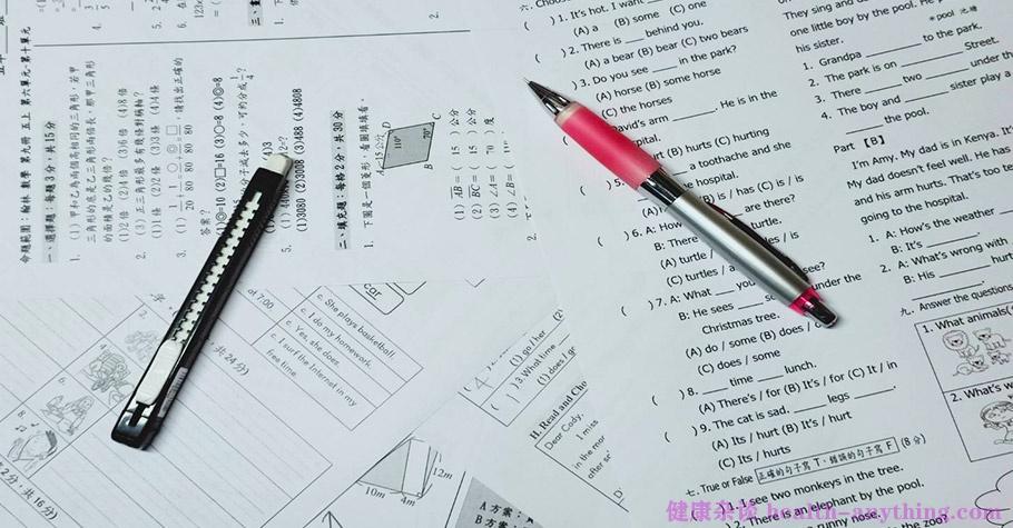 小学生复习一晚连做24份考卷,引发脑炎精神异常;健康都没了,何谈学习?
